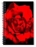 Little Red Flower ... Spiral Notebook