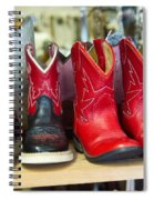 Little Tykes Cowboy Boots Spiral Notebook