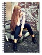Liuda1 Spiral Notebook