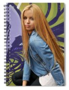 Liuda8 Spiral Notebook