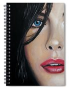 Liv Tyler Spiral Notebook