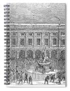 Liverpool Exchange, 1854 Spiral Notebook