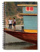 Living On The Mekong Spiral Notebook