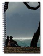 Living The Dream Spiral Notebook