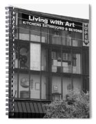 Living With Art Spiral Notebook
