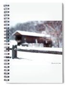 Livingston Manor Covered Bridge Spiral Notebook