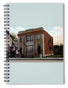Livingston Manor Ny - National Bank Spiral Notebook