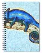 Lizzie Loved Lizards Spiral Notebook