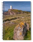 Llanddwyn Rock Spiral Notebook