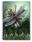 Ll's Dragonfly Spiral Notebook