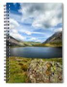 Llyn Idwal Lake Spiral Notebook