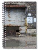 Loading Dock Door 2 Spiral Notebook