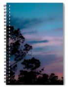Loblelly Pine Silhouette Spiral Notebook