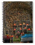 Lobster Pot Arch Spiral Notebook