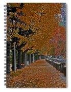 Locarno In Autumn Spiral Notebook
