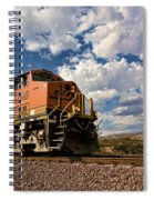 Loccomotive To The Sky Spiral Notebook