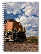 Loccomotive To The Sky Spiral Notebook