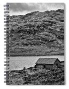 Loch Arklet Boathouse Spiral Notebook