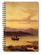 Loch Etive From Bonawe In The Evening Spiral Notebook