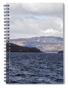 Loch Lomond - Pano1 Spiral Notebook