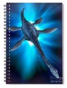 Loch Ness Monster Spiral Notebook