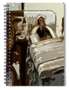 Lock And Chain Spiral Notebook