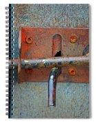 Lock And Latch Spiral Notebook