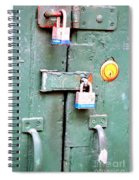 Locked Tight Spiral Notebook