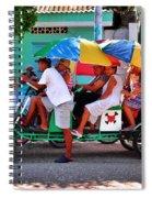 Locomotion Spiral Notebook