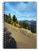 Lodge On The Crater Spiral Notebook