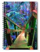 Log Bridges Spiral Notebook