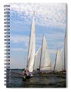 Log Canoes Spiral Notebook