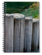 Log Handrail Spiral Notebook