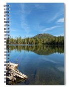 Log In The Lake Spiral Notebook