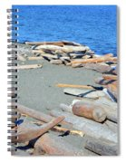 Logged Out Spiral Notebook