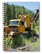 Logging Truck 2 - Burke Idaho Ghost Town Spiral Notebook
