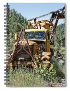 Logging Truck - Burke Idaho Ghost Town Spiral Notebook