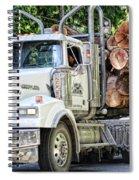 Logging Truck Spiral Notebook