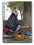 Lollipop Lady Spiral Notebook