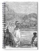 London: Archery, 1859 Spiral Notebook