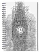 London: Big Ben, 1856 Spiral Notebook
