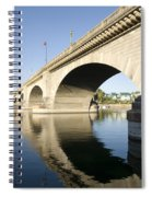 London Bridge II Spiral Notebook