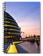 London City Hall At Night Spiral Notebook