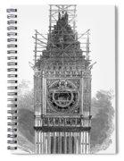 London: Clock Tower, 1856 Spiral Notebook
