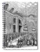 London: Freemasons Hall Spiral Notebook