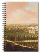 London From Greenwich Hill Spiral Notebook