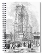 London: Nelson Column, 1845 Spiral Notebook