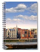 London Skyline From Thames River Spiral Notebook