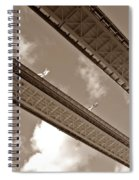 London Tower Brigde 6 Spiral Notebook