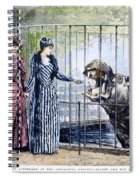 London Zoo, 1891 Spiral Notebook